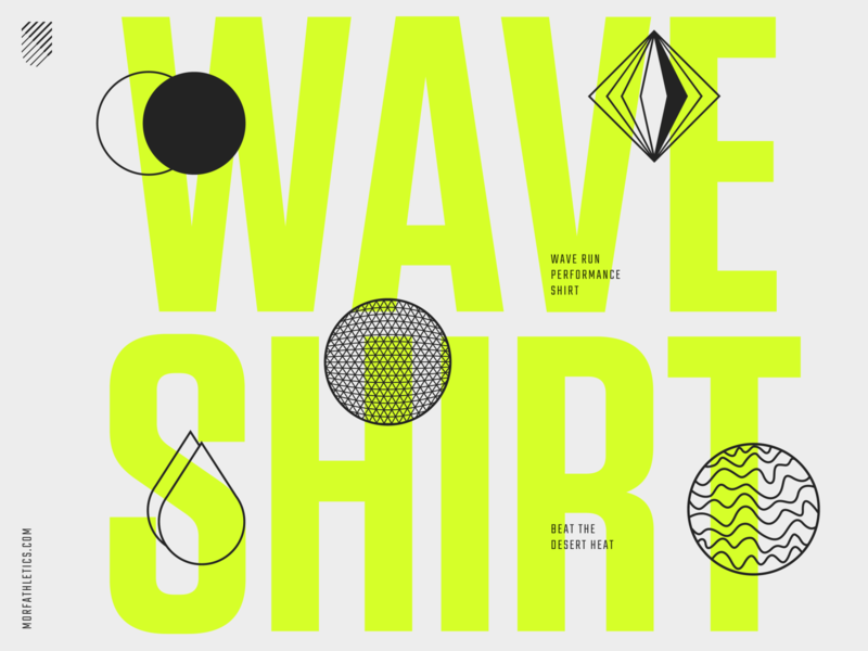 Morf Wave Campaign branding animation logos run sports logotype logo brand typography design type