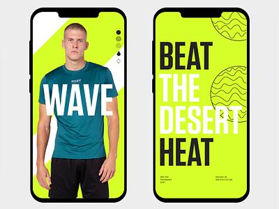 Morf Wave Campaign logos design type logo identity branding typography brand shirt run sport campaign