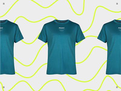 Morf Wave Campaign branding logotype identity type design brand lettering typography logo runner run sport