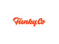 Funky.Co ─ lettering logotype