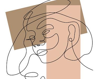 GIRL vector illustration