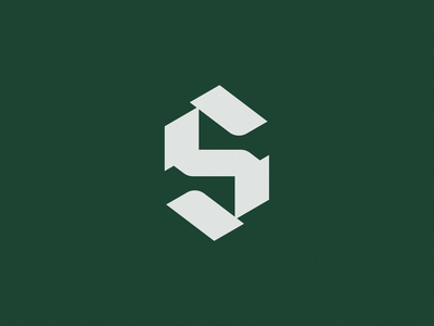 Solas Logomark monogram monograms s monogram mark ben stafford app bible geometric simple type logotype blackletter s letter s logo design logo logomark solas scripture