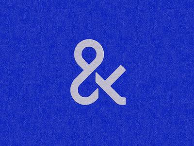 Ampers & Ampers ben stafford logo mark design geometric and ampersand