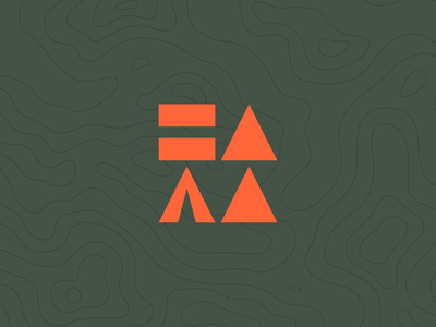 I Went Camping With - Logo design geometric ben stafford identity brand identity podcast branding podcast design podcast icons fast forward pause play logomark logo branding