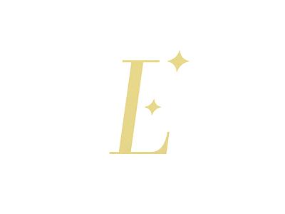 Photography Logo (EL Monogram) simple elegant luxurious photography logo el monogram mark ben stafford