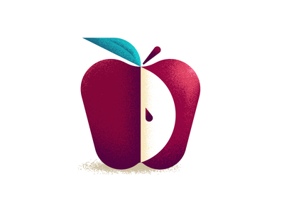 Back to School tools education online school teaching class slice ben stafford geometric illustration apple vector textures