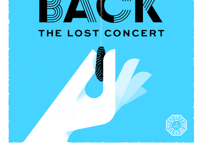"""We Have to Go Back"" Poster - Bottom tv show conductor hand gig poster vector textures illustration plane orchestra baton concert michael giacchino lost"