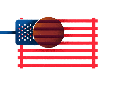 Bring Your Own Bun cookout july 4th summer spatula holiday american flip grill memorial day burger flag america