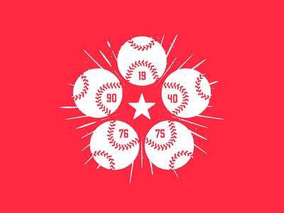 5x Champs tshirt stitching illustration major league ohio reds cincinnati star mlb baseball townie made