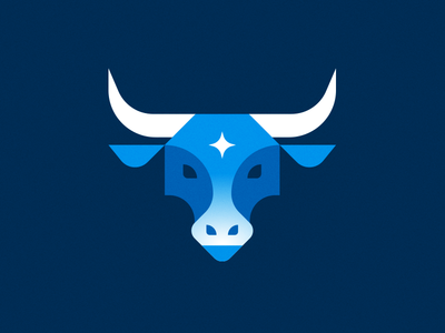 The Bemidji Babe logo cow geometric illustration paul bunyan bull minnesota blue ox babe bemidji