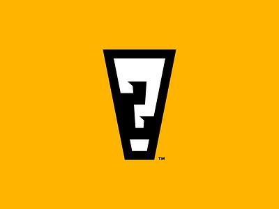 Questamation Mark publisher publishing interrobang graphic novel bold strong logo comic book exclamation mark question mark
