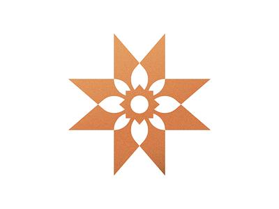 Ohio Legacy Logo ben stafford quilt flag burgee logo flower dahlia amish star ohio legacy
