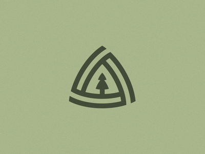 Cypress & Spruce Logo pine tree ben stafford skoolie adventure essential oils pine triangle reuleaux mark logo spruce cypress