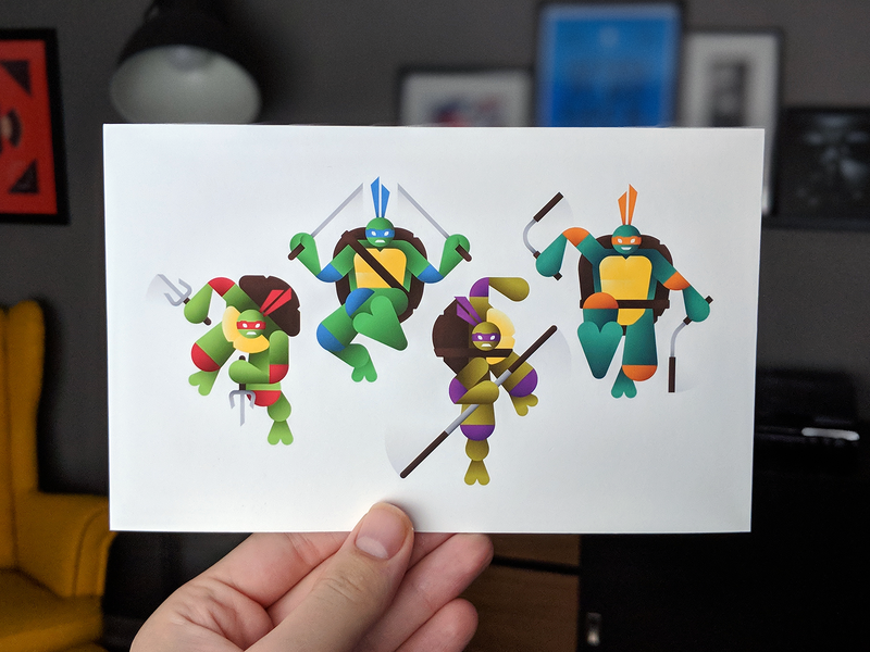 Heroes in a Half Shell - Print