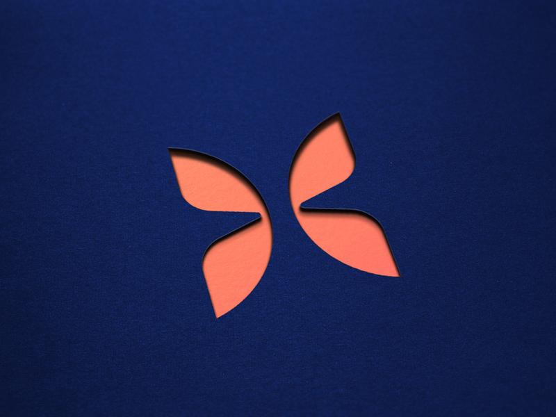 Monarch - Logo Mark identity branding fintech financial focus lab monarch butterfly mark logo geometric