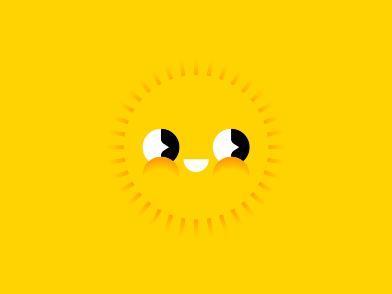 Sunny's Secrets bright happy illustration avatar secrets sunny sun
