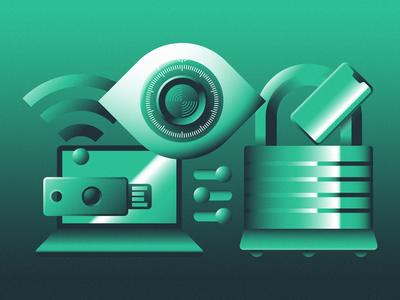 Safe & Secure blog tech reliable trust management focus lab aptible illustration security