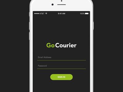 Go Courier App Login