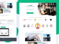 Kiwi Jobs - Landing Page B2B