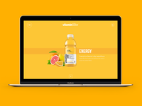 Glaceau vitamin water concept
