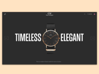 Landing page - Daniel Wellington watches