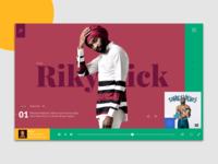 Music App - Desktop
