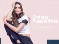 Nike woman page
