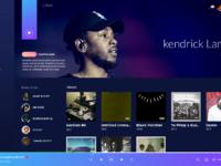 Desktop app   music