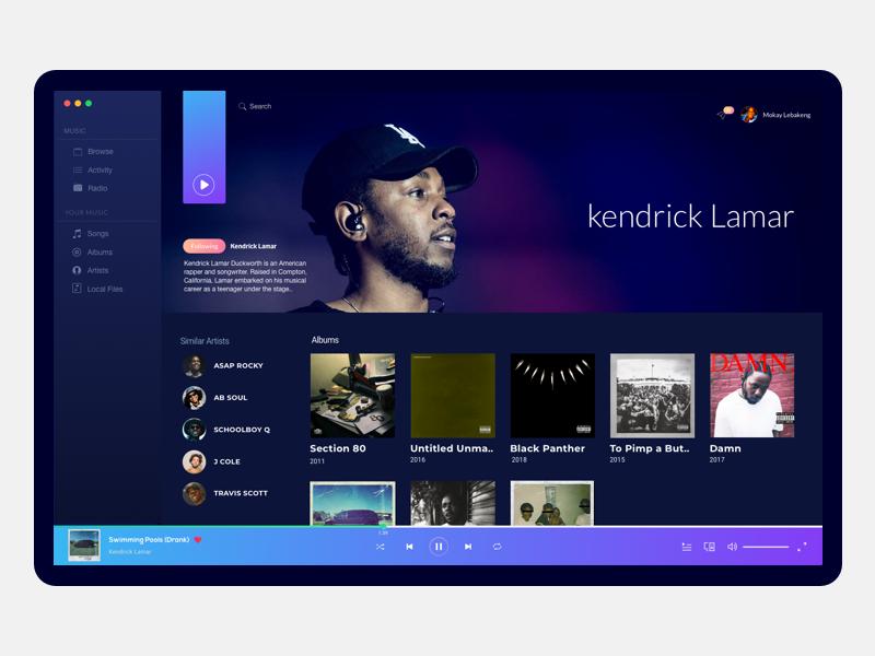 Music app idea music