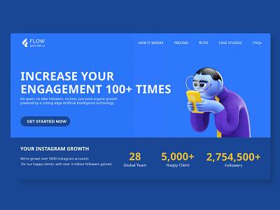 Social Media Marketing - Web ui