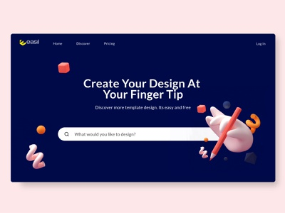 design platform - Web ui 3d 3d animation webdesign application website gradient app cleanui ui design dailyui minimal ux