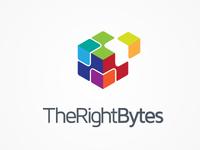Therightbytes logo design