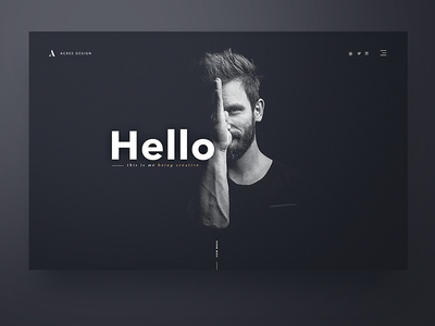 Personal Portfolio Site website webdesign typography layout homepage design web portfolio web design first shot