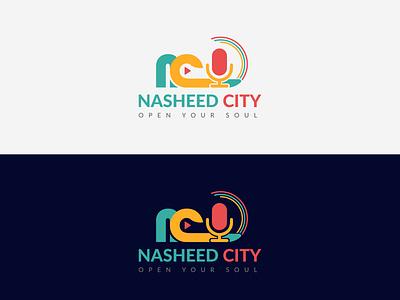 NASHEED CITY - Logo Design for a contest logo contest nasheed city logo branding logo design creative logo design graphic design branding logo design nasheed logo logo nasheed nasheed city