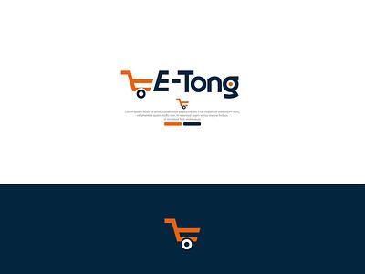 E-Tong tong e-tong vector illustration design logo design creative logo design logo branding logo design branding graphic design