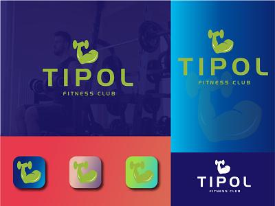 TIPOL LOGO 01 fitness center fitness club fitness logo fitness app fitness gym gymnastics gym flyer gym logo gym app vector branding creative logo unique logo minimalist logo logodesign logo business logo design business logo