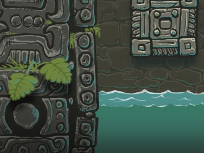 Ancient ruins ambient testing ancient ruins game art ambient background