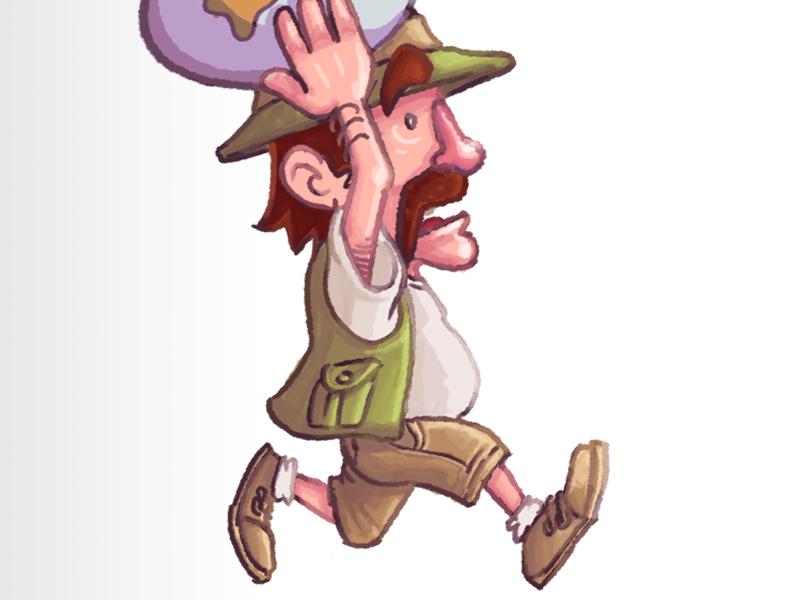Eggdward Style Test illustration style test