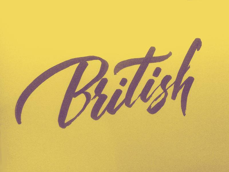 Brush Script Practice brush type script lettering font calligraphy tombow brushpen
