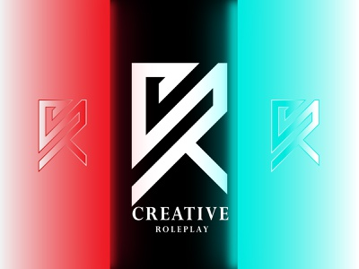 Creative 'C&R' Combination Letter mark logo 3d graphic design creative branding logo design design typogaphy brand identity inetial letter logo custom logo logo