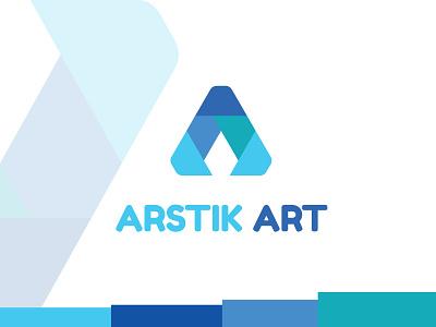 """Arstik  Art  """"A""""  Letter logo art logo modern logo a letter logo clean logo simple logo design typogaphy brand identity logo design inetial letter logo custom logo branding logo"""