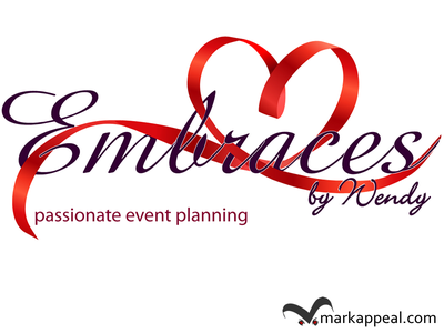Concept Embraces by Wendy concept event planning business naming logo marketing