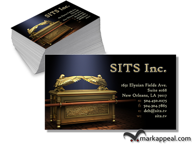 Business Cards for SITS Inc business cards marketing corporate identity