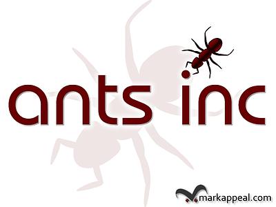 Logo for Ants Inc logo corporate identity marketing non-profit