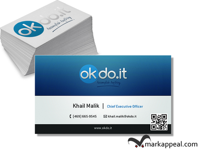 Business Cards for okdo.it business cards marketing