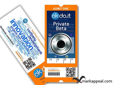Private Beta Tickets fo okdo.it tickets marketing