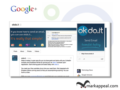 okdo.it Google+ Branding branding google marketing