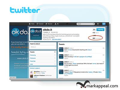 Twitter Branding for okdo.it twitter branding marketing