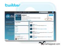 Twitter Branding for okdo.it