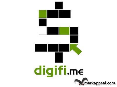 Logo for The Digital Finance Company logo branding marketing